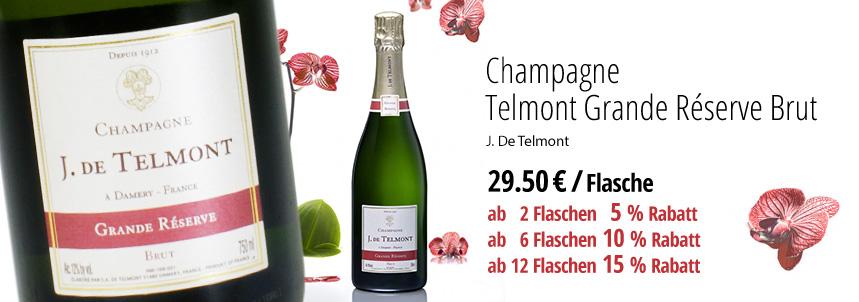 Champagne Telmont Grande Réserve Brut